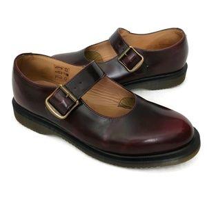 Dr Martens Corin Mary Janes Shoe Cordovan Burgundy